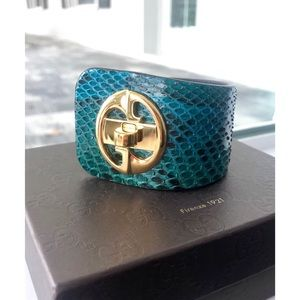 Authentic Gucci Python Wrap Bracelet